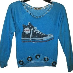 Other - Girls LOVE Sneaker Sweatshirt